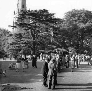 Bottesford garden Fete - 1955