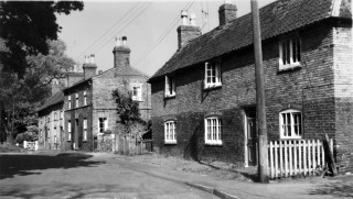 Church Street Bottesford  1950s. Right to left: Six Bells, No. 6 (No.7 in 1901) Nos. 8,9,10.