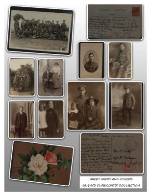 Florrie Harby's WW1 Album