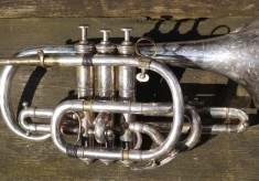 Bandmaster William Sutton's cornet