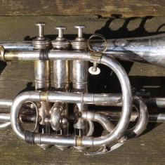 William Sutton's prize-winning cornet