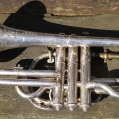 Bandmaster William Sutton's cornet