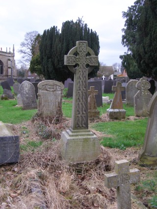 The grave of Leontine, John and Frederick Cullen, St. Mary the Virgin Churchyard, Bottesford