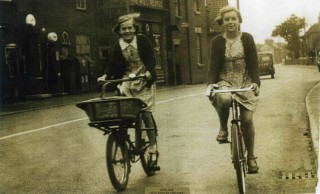 Freedom of the road in pre war Bottesford - Charlotte Bugg and Margaret Waudby