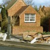 Henry Goodson's Stone Trough - the Cross