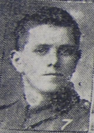 Lance Serjeant Fred Darby