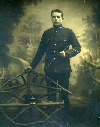 Driver Ernest Henry Jallands DCM