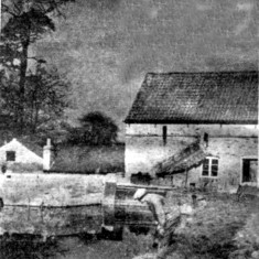 Easthorpe Mill in the 1940s