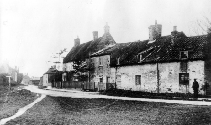 Easthorpe Cottages, now Corner House C. 1900