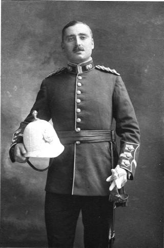 Captain Edward A.S. Hatton RMLI | From the Collection of Mr Charles Hatton