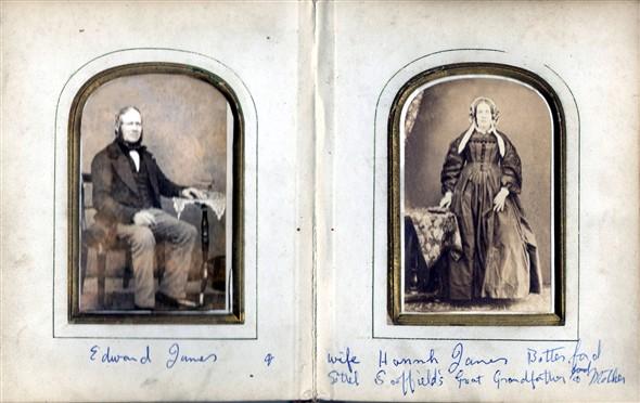 Edward and Hannah James