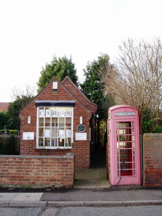 Old Telephone Exchange - before removal of the Telephone Box in 2007