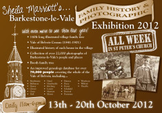 Barkestone-le-Vale Family History and Photographic Exhibition, 2012