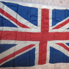 WW1 Union Jack from HMS Queen Elizabeth, Admiral Beatty's Flag Ship