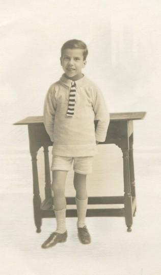 Frankie Bullock circa 1923