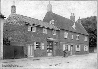 Geeson's Shop, Church Street c. 1902