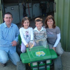 James Goodson and family, at Easthorpe