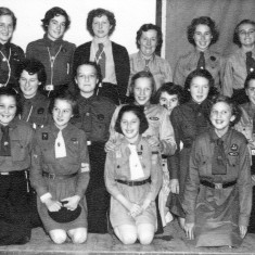 First Bottesford Guides Party 1955