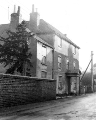 Singleton's House at the North East end of Chapel Street shortly before demolition in the early 1960's