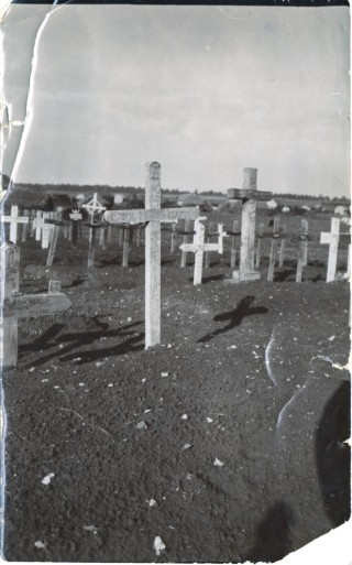 Capt. H Walter S Hatton Grave Cross | From the collection of Mr Charles Hatton
