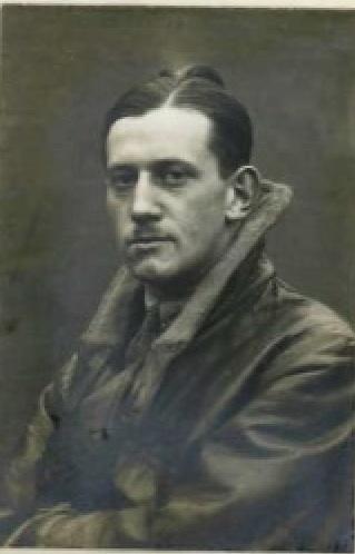 2nd Lieut. Harold Barker 1916