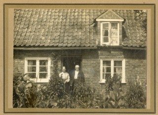 Henry & Mary Harby at their cottage door | All photos from the private collection of Bill Pinfold
