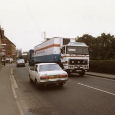 Bottesford High Street pre by-pass traffic