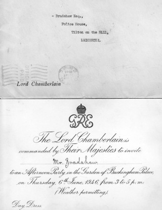 Invitation to the Palace, 1946.