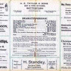 1925 Iolanthe Cast List