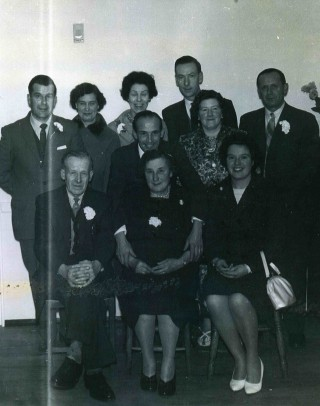 The Jallands Family in the early 1950's.