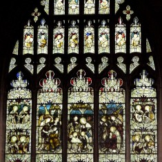 St Mary's, Bottesford - The South Transept Window
