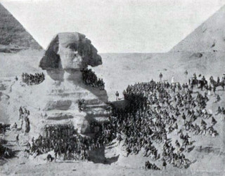 The 2nd Battalion KOSB Photographed at the Sphinx 1889