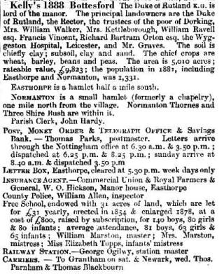 Kelly's Directory 1888