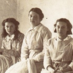 Young Workers in the Lace Room - detail