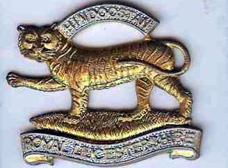 Cap Badge of the Royal Leicestershire Regiment