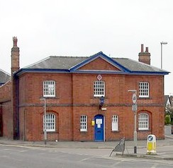 Lutterworth Police Station - built about 1843 English Heritage Grade 2 Listed- the oldest purpose-built operational police station in Leicestershire and possibly in England. Architect William Parsons1796-1857, designer of Leicester's Theatre Royal, Gaol and Lunatic Asylum.