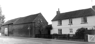 Daybell's Farmhouse and barn c. 1980