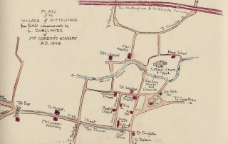 Map of 1848 showing 'The Runnel' on High Street