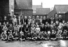 Miss Walker's class in 1949