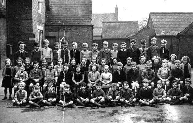 Bottesford school in 1949.
