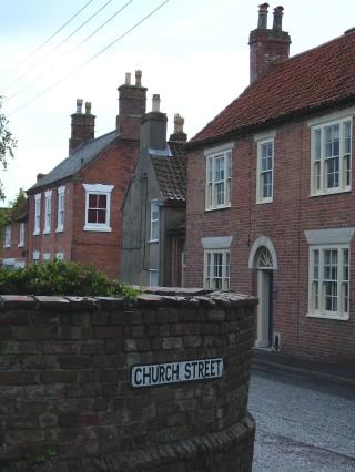 Market Street from Church Street - Craven House