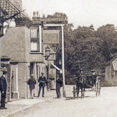 Outside the Bull c. 1900