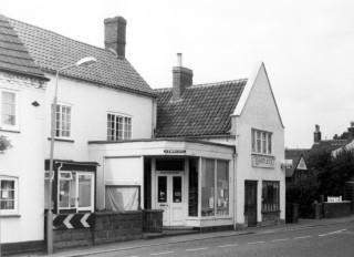 Village shops on Market Street