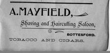 Pre WW1 Bottesford advertisment