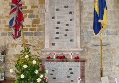 Bottesford War Memorials - St Mary's Church