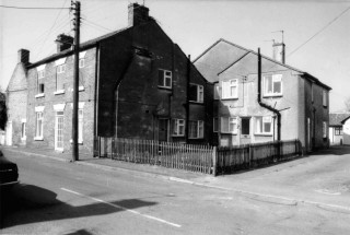 Chapel Street North side 2008 - far left the Old Bakery and near right 'Marble Arch'