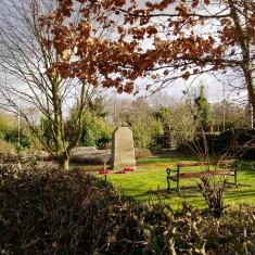 Millenium Garden Memorial  - The New Village Green Grantham Road