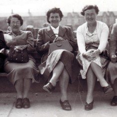 Miss Walker, Mrs. Taylor, Maud Barnes, Mrs. Ogden, Miss Ford.