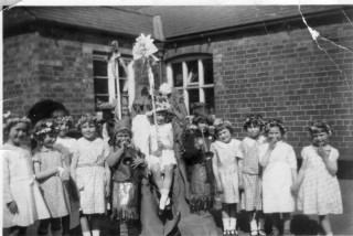 May Day Pageant in the 1920/30's at Bottesford School