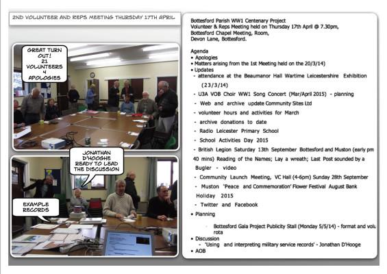 2nd Meeting 7/4/14